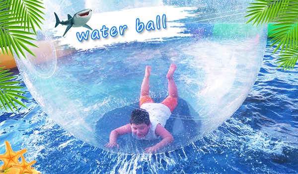 Inflatable Water Ball on Pool
