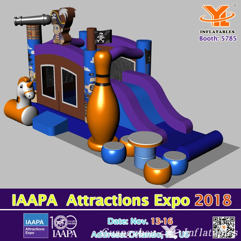 Booth 5785 YL Inflatables 2018