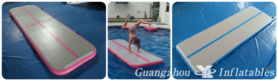inflatable gymnastics  water mats for pool