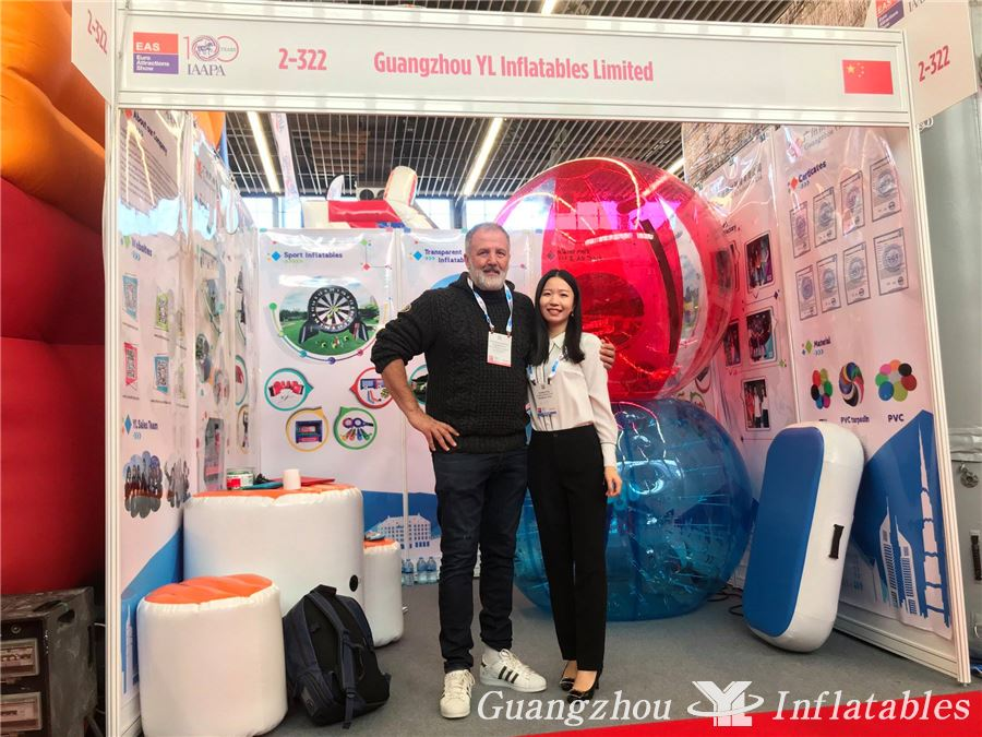 Guangzhou YL Inflatables Events in Amsterdam