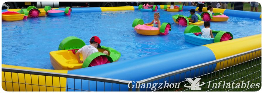 Paddle Boats for inflatable Swimming Pool