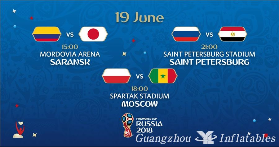 2018 World Cup  19 June