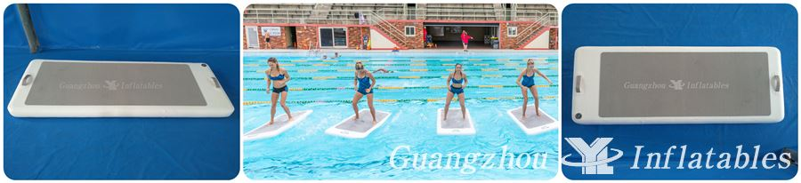 Floatfit---inflatable water  mats