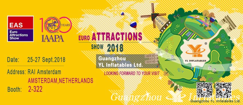 Euro Attractions Show 2018  YL Inflatables