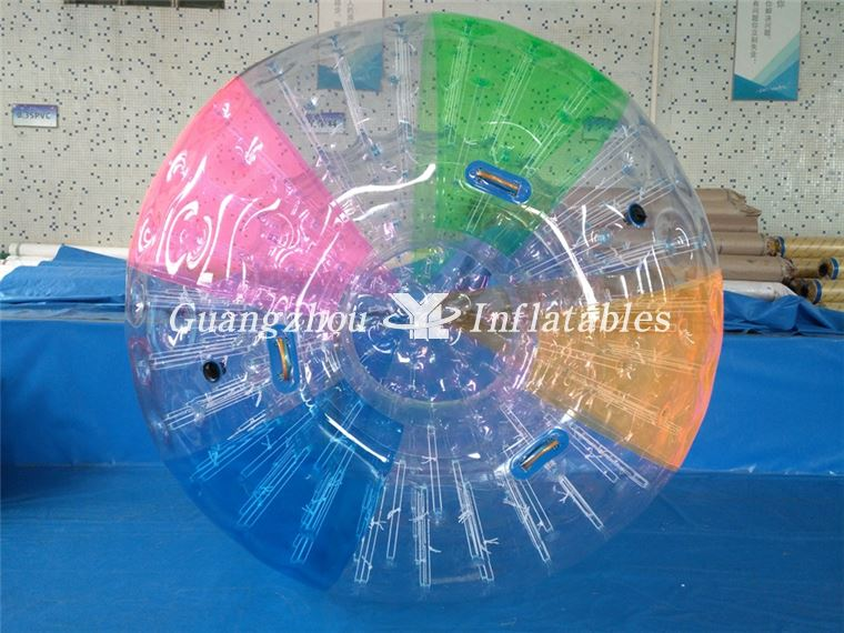 China Inflatable colorful rolling ball  Supplier