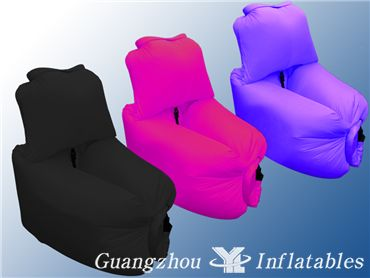 airbedairloungeairsackinflatable air sofa with pillow