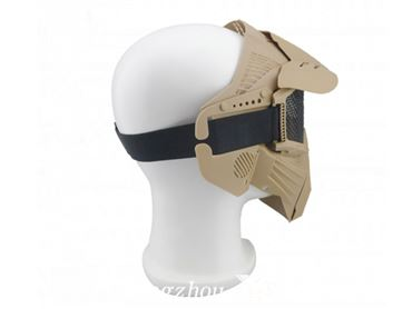 inflatable paintball mask