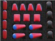 Hot Sale 19pcs A Set Inflatable Archery Bunker Field For Outdoors
