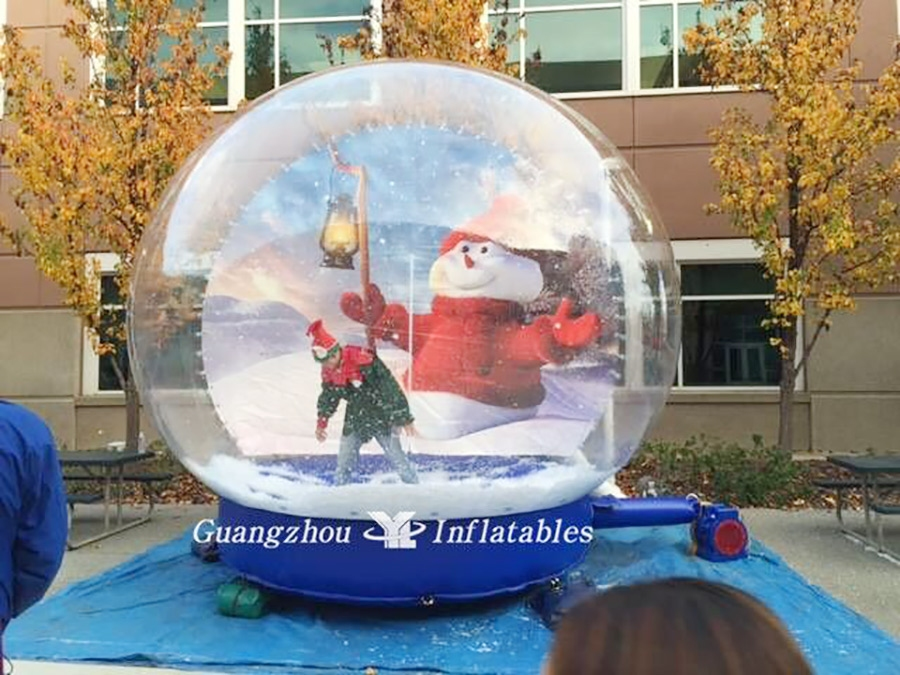 inflatable snow globes tent