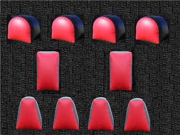 Top Quality 10pcs Inflatable Paintball Bunkers Paintball Bunker Arena Filed