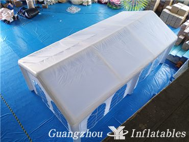 inflatable building tent
