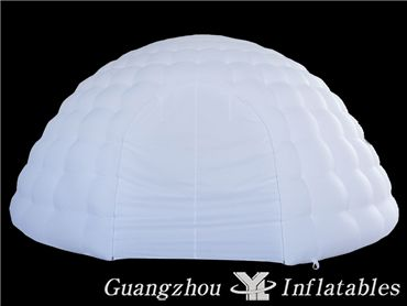 Inflatable Dome Tent, Inflatable Igloo Tent with Led Light