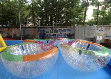 TPU Floating Water Coco Ball / Half Zorb / Inflatable Beach Cocoon