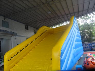inflatable zorb ball ramp