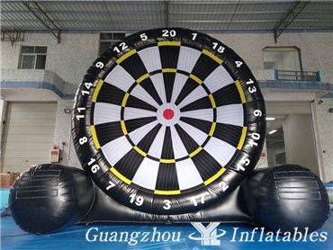 Inflatable Bullseye Footdart, Inflatable Golf Dartboard Games for Kids and Adults