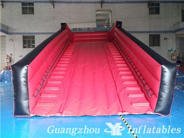 inflatable zorb ramp slide