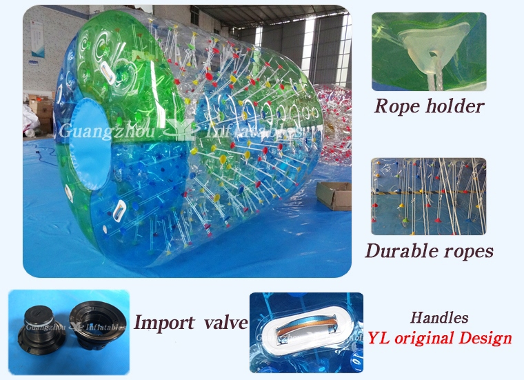 Inflatable Water Roller Ball for Sport Games
