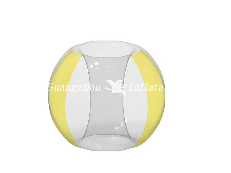 bumper rolling ball Two Side Yellow Bumper Soccer Ball