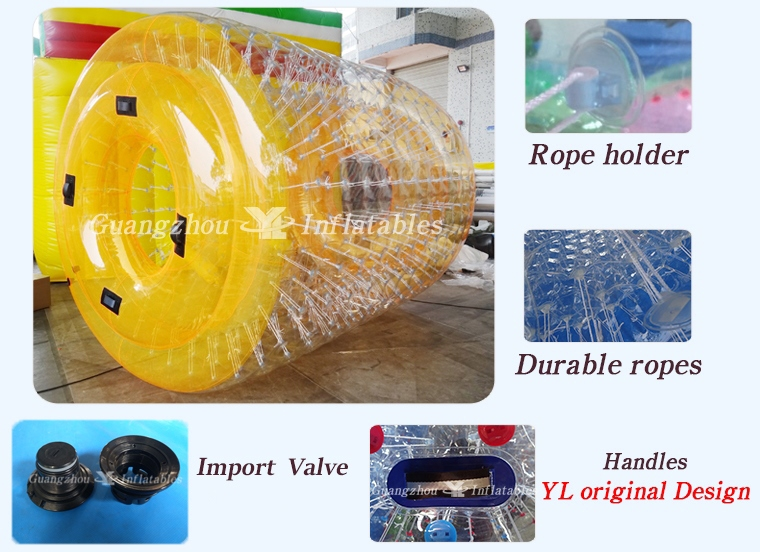 Inflatable Aqua Roller for Swimming Pool Games