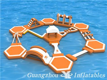 Aqua Park Inflatable Water Park Water Toy