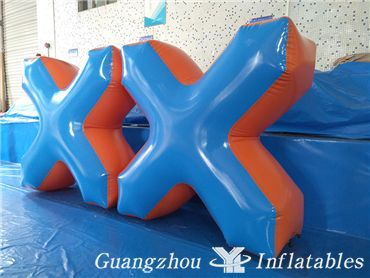 inflatable paintball obstacle game