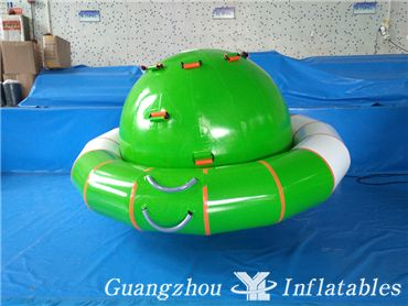 Inflatable Water UFO Seesaw Water Saturn Rocker Toys