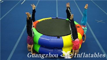 Inflatable Fitness Wheel Games
