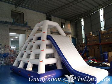 Summer Recreation Inflatable Water Tower, Inflatable Floating Water Slide, Aqua Park Toys