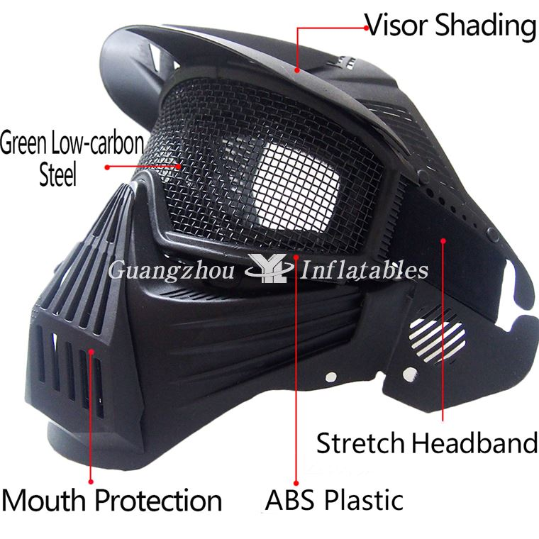 China Inflatable paintball bunkers games Mask
