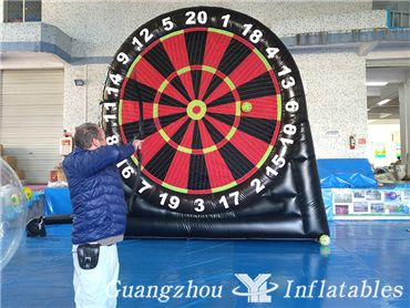 Archery Game Inflatable Bulleye Darts Game, Sticky Football Darts for Party