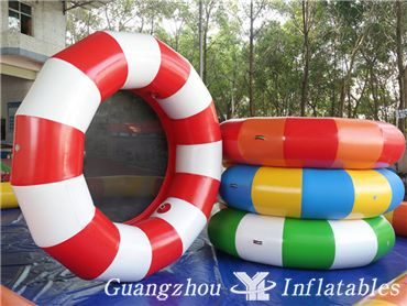 Crazy Inflatable Water Trampoline, Inflatable Aqua Jumping Toys