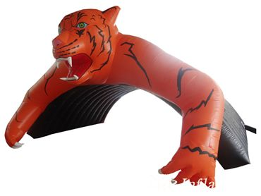 Inflatable Tiger Tunne Tent