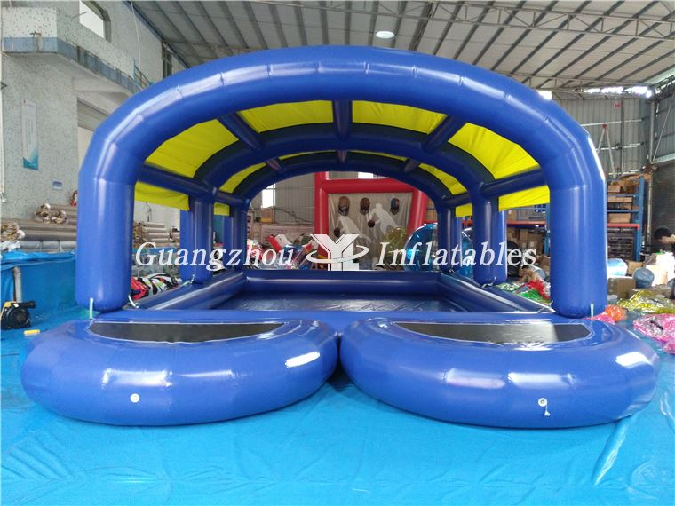 Inflatable Water Tent Pool With Water Platform