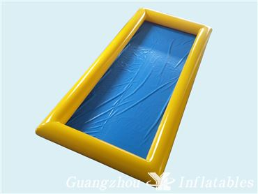 Inflatable Right Angle Pool for Water Park Games