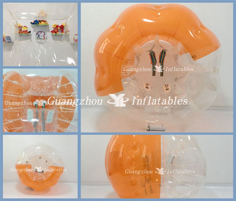Inflatable Body Bubble Bumper Ball with Window