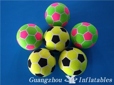 Inflatable Sticky Soccer Balls, Velcro Covered Soccer Ball for Inflatable Football Dart