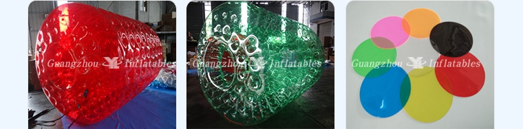Colorful Water Roller Ball  PVC Water Walking Roller