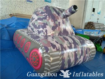 Inflatable Paintball bunker Tank for Archery Bunkers Games
