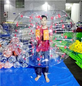 In Stock Inflatable bumper ball/human bubble ball/bubble football(50pcs)