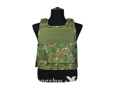 camouflage  protective vest
