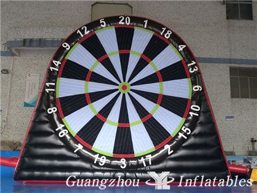 Best Selling Giant Inflatable Football Shooting Darts Board For Sport