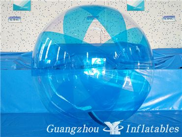 Half Color Sticky Smash Walk On Water Hair Roller Inflatable Ball Sales