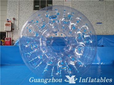 Inflatable PVC Button Water Roller