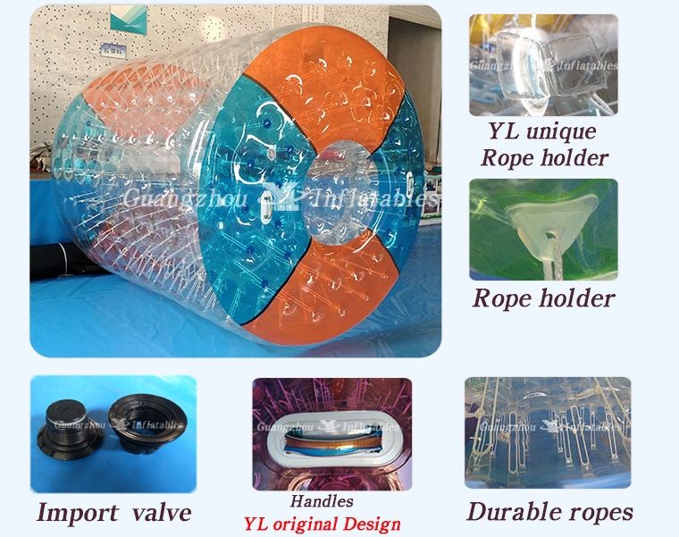 Chinese Inflatable Water Roller Export, Rolling Wall For Hot Sale