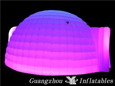 Inflatable Led Lighting Dome Tent , Wedding Decorations Tent