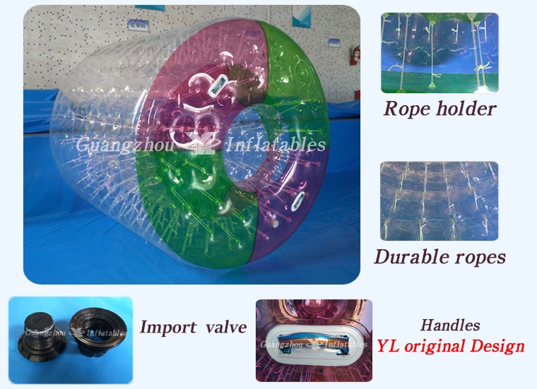 One Entrance Inflatable Pool Inflatable Water Walking Roller