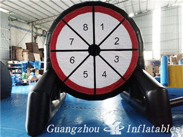 Bullseye Shooting Target,Inflatables Soccer Darts Board, Inflatable Golf Dartboard Games