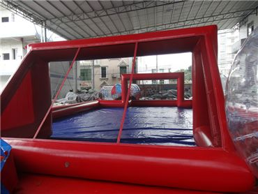 inflatable water soccer pitch