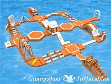 Adult Inflatable Water Park YL Inflatable Water Park Games
